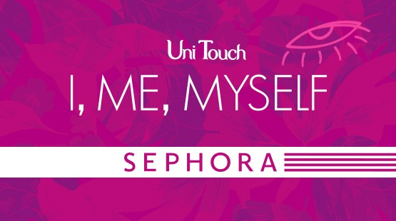Be Proud, Narcissists!  SEPHORA Global Launch Conference in Taiwan