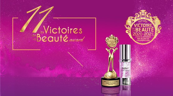 The World's Only Winner of 11 French Cosmetic Awards For 6 Consecutive Years