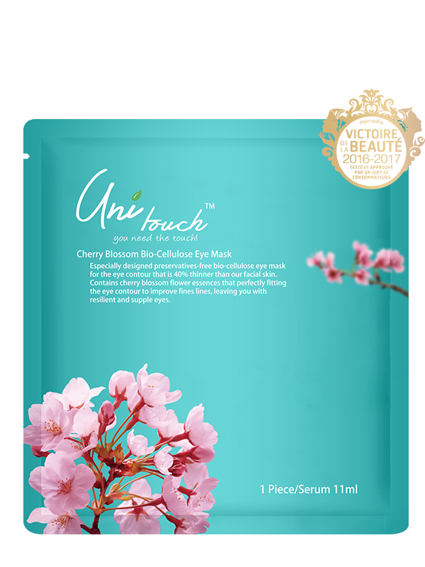 Cherry Blossom Extract Bio-Cellulose Eye Mask