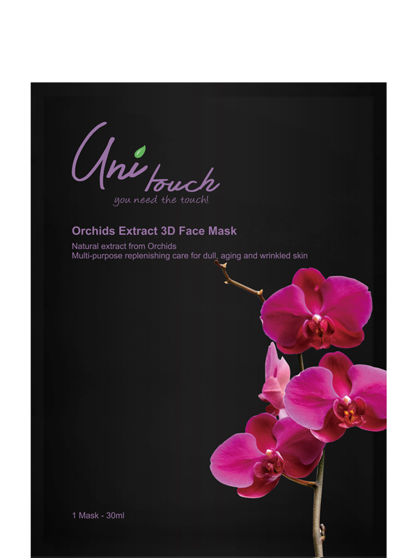Orchids Extract 3D Face Mask
