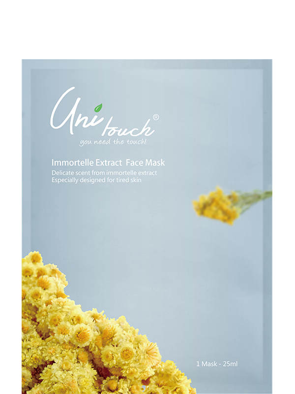 Immortelle Extract Face Mask