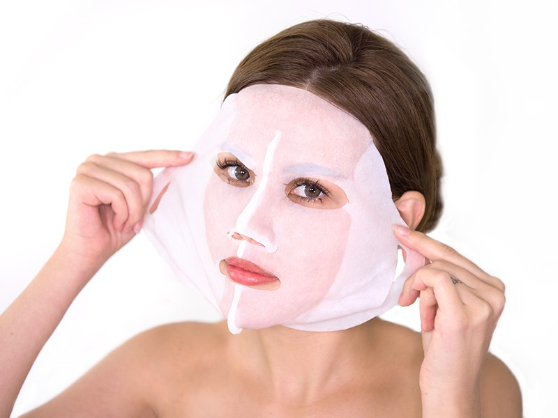 Truffle and Cocoa 3D Face Mask method step 2
