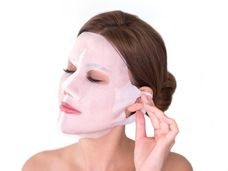 Truffle and Cocoa 3D Face Mask method step 3