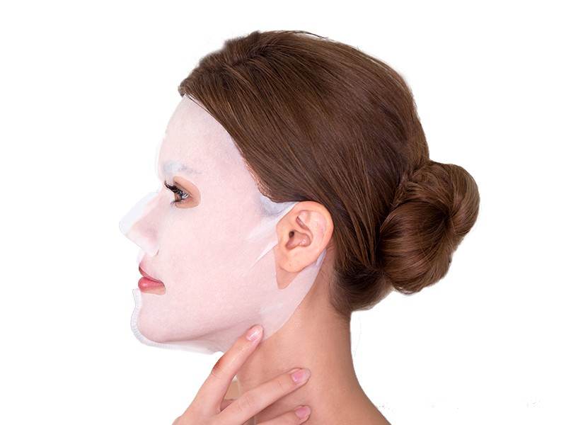Truffle and Cocoa 3D Face Mask method step 4